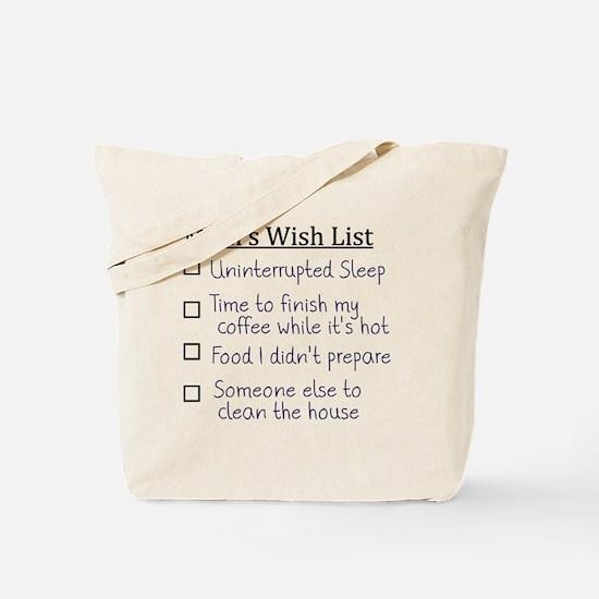 List Tote Bag