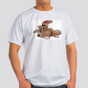 Some Mushrooms On Your Ash Grey T-Shirt