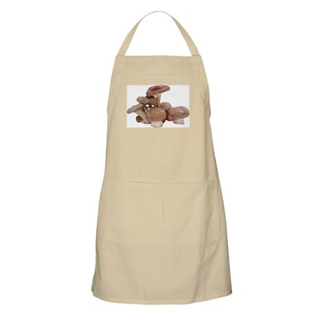 Some Mushrooms On Your BBQ Apron