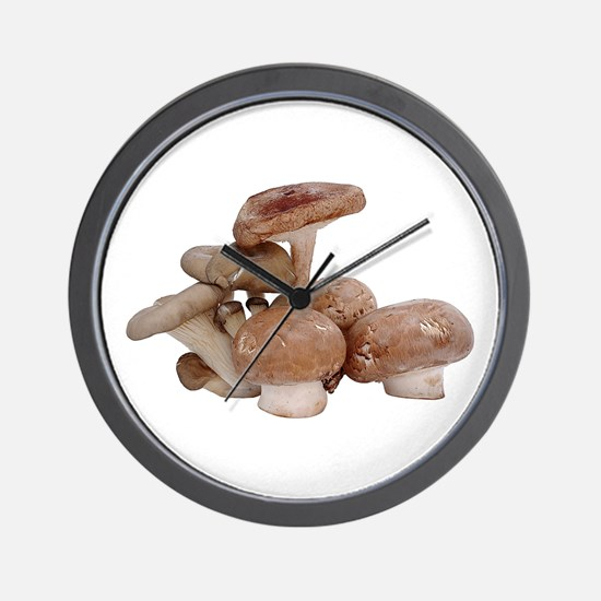 Some Mushrooms On Your Wall Clock