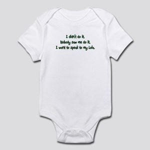 Want to Speak to Lola Infant Bodysuit