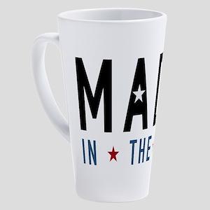 Made In USA 17 oz Latte Mug