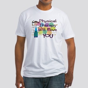 Physical Therapy Fitted T-Shirt