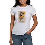 Girl With Pumpkin Women's T-Shirt