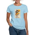 Girl With Pumpkin Women's Light T-Shirt