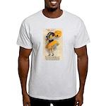 Girl With Pumpkin Light T-Shirt