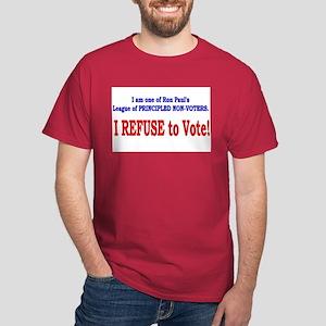NO VOTE #3 Dark T-Shirt