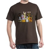 Dogs Mens Classic Dark T-Shirts