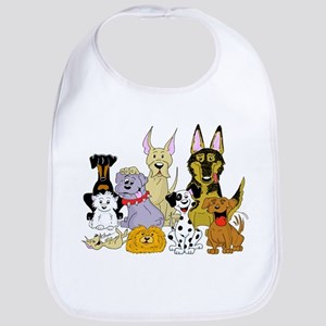 Cartoon Dog Pack Bib