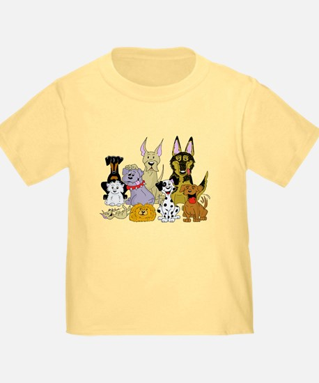 Cartoon Dog Pack T