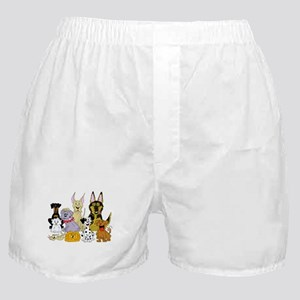 Cartoon Dog Pack Boxer Shorts