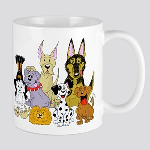 Cartoon Dog Pack Mug