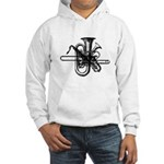 Brass & Sax Hooded Sweatshirt