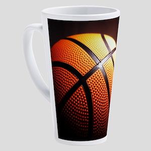 Basketball Ball 17 oz Latte Mug