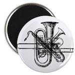 Brass & Sax Magnet