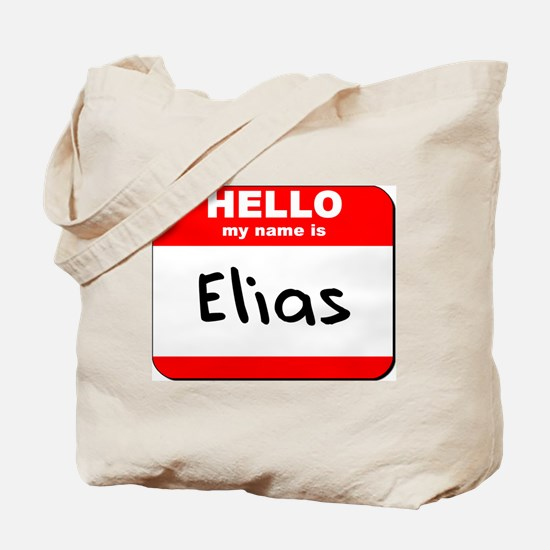 Hello my name is Elias Tote Bag