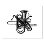 Brass & Sax Small Poster