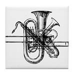 Brass & Sax Tile Coaster