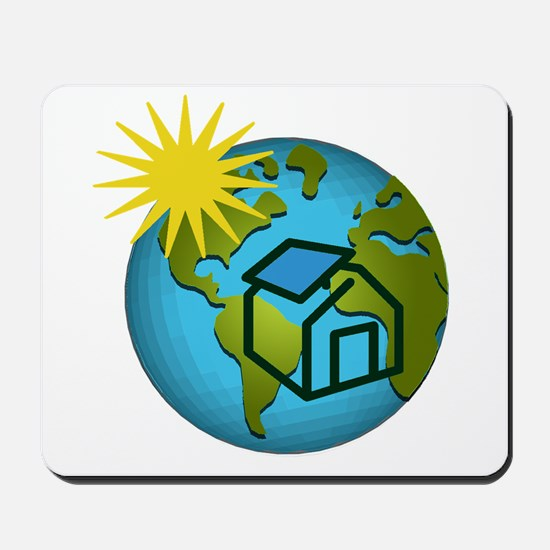 Solar Power Earth Mousepad