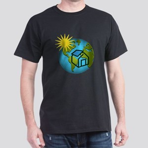 Solar Power Earth Dark T-Shirt