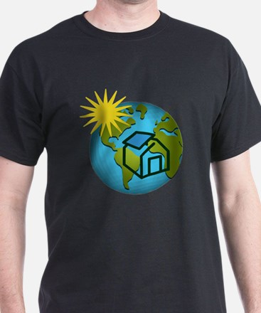 Solar Power Earth T-Shirt