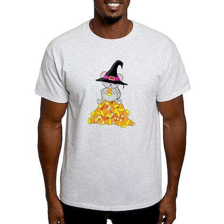 Candy Corn Mouse Light T-Shirt