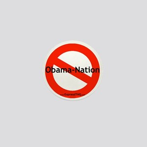No Obama Nation - Mini Button
