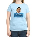 Obama-style CHANGE Women's Light T-Shirt