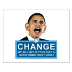 Obama-style CHANGE Small Poster