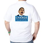 Obama-style CHANGE Golf Shirt
