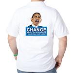Obama-style CHANGE Golf Shirt