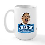 Obama-style CHANGE Large Mug