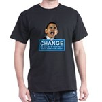 Obama-style CHANGE Dark T-Shirt
