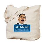 Obama-style CHANGE Tote Bag