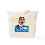 Obama-style CHANGE Tote Bag