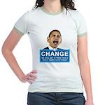 Obama-style CHANGE Jr. Ringer T-Shirt