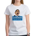 Obama-style CHANGE Women's T-Shirt