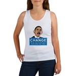 Obama-style CHANGE Women's Tank Top