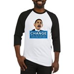 Obama-style CHANGE Baseball Jersey