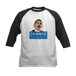 Obama-style CHANGE Kids Baseball Jersey