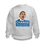 Obama-style CHANGE Kids Sweatshirt