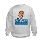 Obama-style CHANGE Kids Sweatshirt
