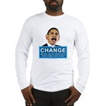 Obama-style CHANGE Long Sleeve T-Shirt