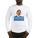 Obama-style CHANGE Long Sleeve T-Shirt