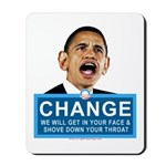 Obama-style CHANGE Mousepad