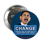 "Obama-style CHANGE 2.25"" Button"
