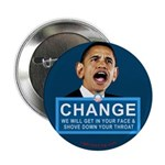 """Obama-style CHANGE 2.25"""" Button (100 pack)"""