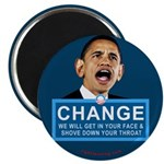 "Obama-style CHANGE 2.25"" Magnet (10 pack)"