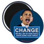 "Obama-style CHANGE 2.25"" Magnet (100 pack)"