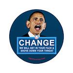 "Obama-style CHANGE 3.5"" Button"